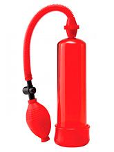 Bomba Vácuo 19cm Pump Worx - Vermelha