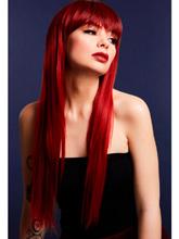 Peruca Jessica Vermelha - Alta Qualidade