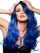 Queen Bitch High Quality Wig - Blue