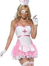 Fantasia de Enfermeira - Rosa